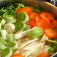 ציר ירקות, ציר מרק טבעוני