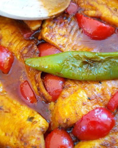 חריימה דג מרוקאי ברוטב